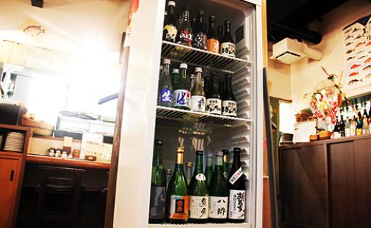 お酒・冷蔵庫